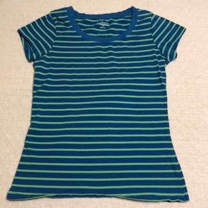 LIKE NEW Susan Bristol Striped T Shirt